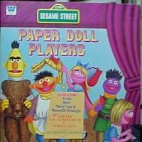 Dover Sesame Street Paper Doll Players Book