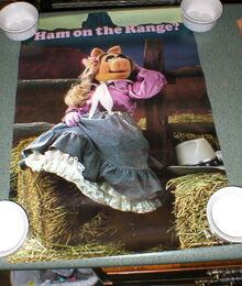 Billy the kid 1981 ham on the range poster