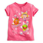Disney store 2014 world tour t-shirt for girls
