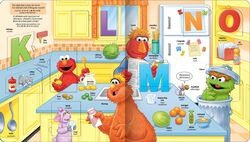 Elmo's word book 3