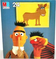 Milton bradley 1982 pin the tail puzzle