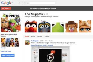 Muppets GooglePlus