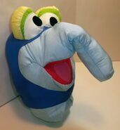Play by play 1997 muppets inc gonzo play faces plush 2