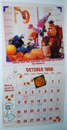 Sesame street calendar 1998 10