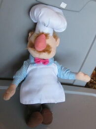 Toy factory swedish chef doll