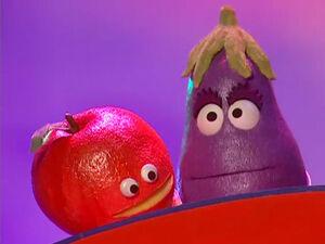 Apple eggplant