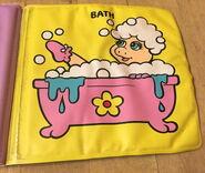 Baby piggy get wet 5