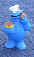 Bully germany cookie monster chef pvc