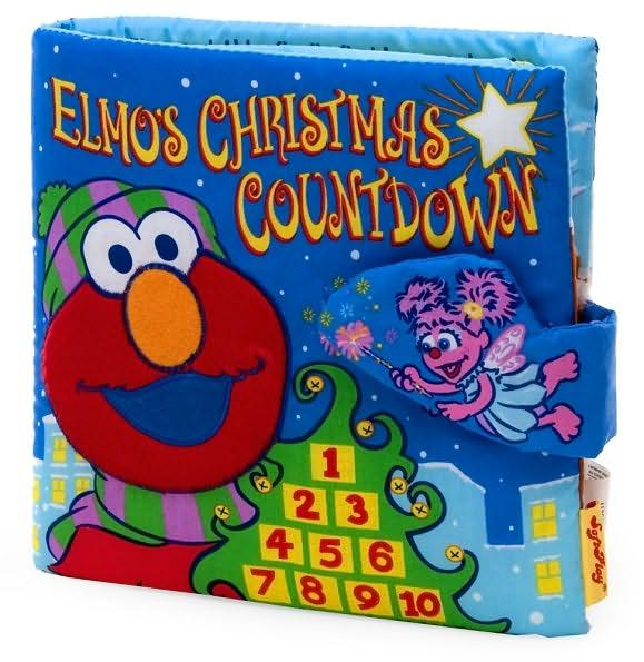 Elmos Christmas Countdown.Elmo S Christmas Countdown Soft Book Muppet Wiki