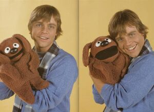 Mark Hamill Rowlf toy