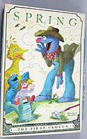 Milton bradley 1980 spring the first crocus puzzle smollin