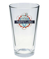 Muppet Show pint glass Muppet Labs