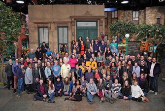 Season 50 cast and crew