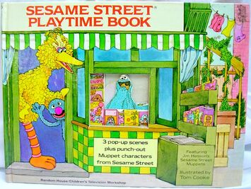 Sesame Street Playtime Book