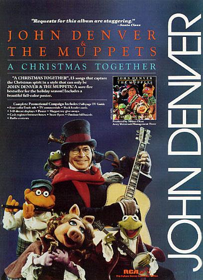 John Denver Christmas.A Christmas Together Album Muppet Wiki Fandom Powered