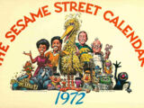 The Sesame Street Calendar 1972