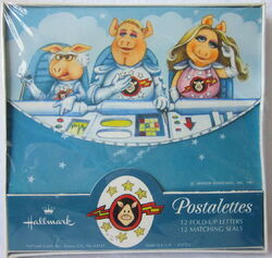 Hallmark pigs in space 1981 postalettes