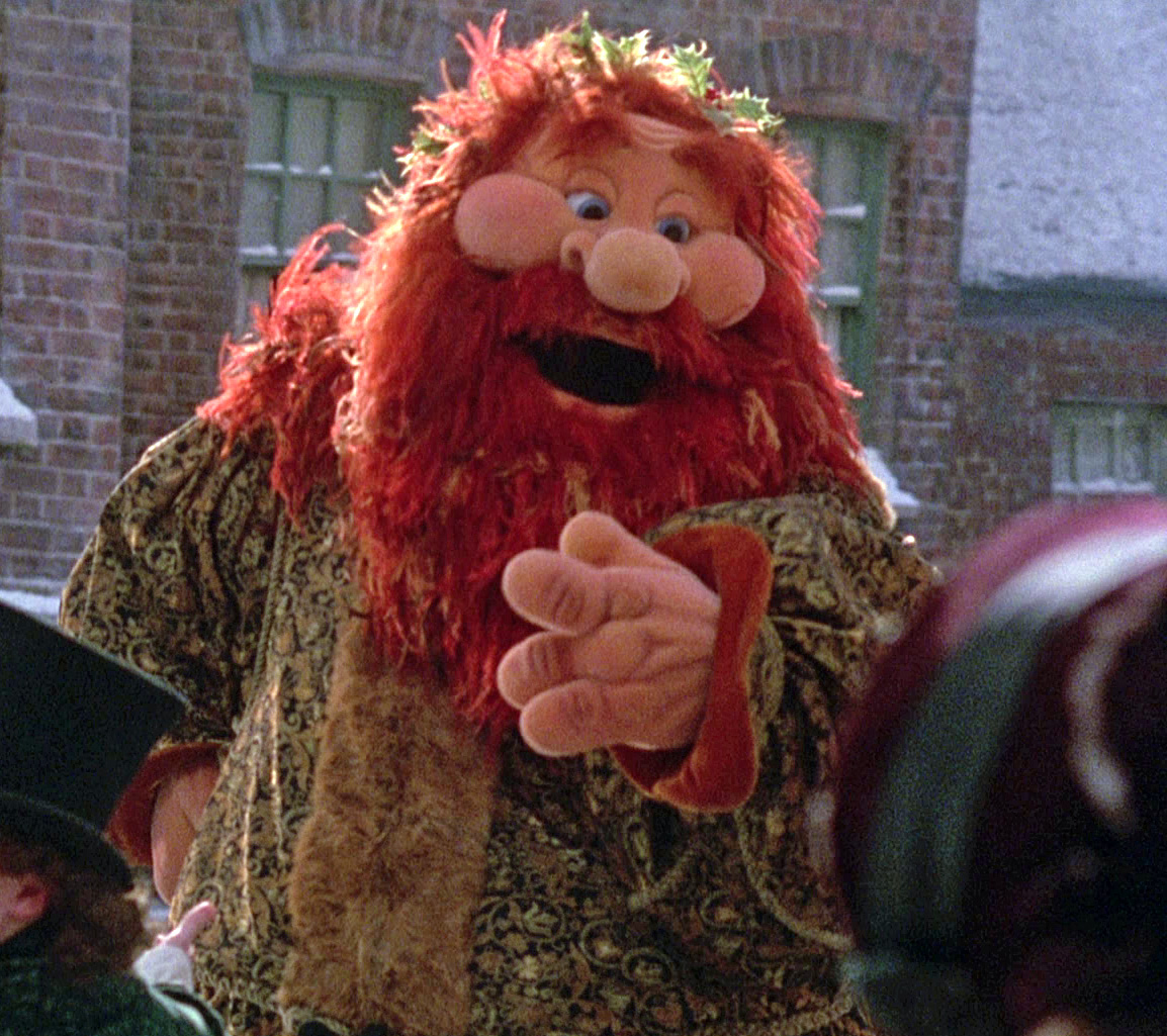 Muppet Christmas Carol Ghost Of Christmas Past.The Ghost Of Christmas Present Muppet Wiki Fandom