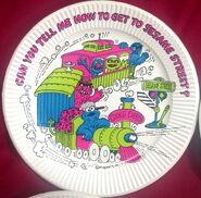 Smollin party supplies plate