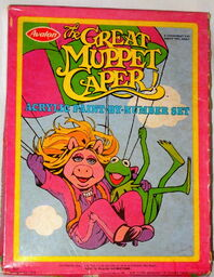 Avalon 1981 great muppet caper acrylic paint by number set crafts 1