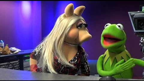 BBC Radio 1 Kermit and Piggy 2014