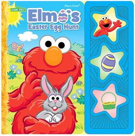 Elmo's easter hunt