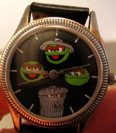 Fossil sesame street general store watch oscar mood watch