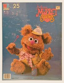 Muppet Babies Milton Bradley puzzle Fozzie