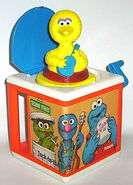 Sesame Street Jack-in-the-Box toys
