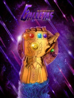 Sesamo Twitter Infinity Gauntlet