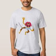 Zazzle animal collar chains shirt