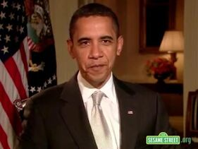 Barack Obama Sesame 40th