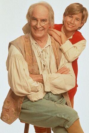Martin Landau as Geppetto