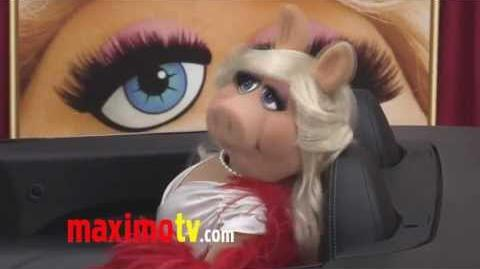 "Miss Piggy at ""The Muppets"" World Premiere Arrivals"