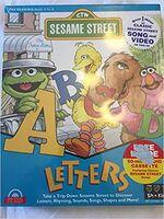 Sesame Street Letters 1995 cover
