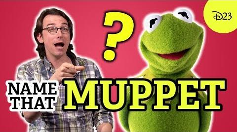 D23 Name that Muppet with Matt Danner