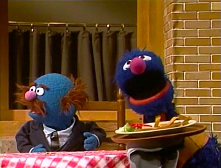Sesame Street Grover Restaurant