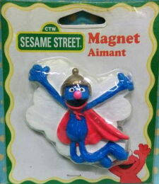 Wilton industries 1998 super grover magnet