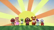 Baby Rowlf debut with cast