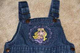 Calamity jane overalls piggy 1