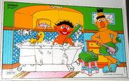Playskool 1982 bath time puzzle