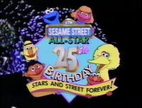 Sesame Street All-Star 25th Birthday: Stars and Street Forever!