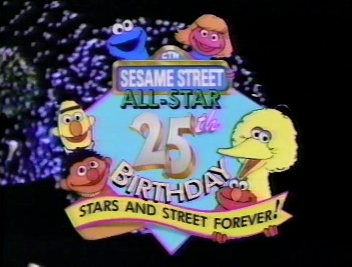 Sesame Street All-Star 25th Birthday: Stars and Street