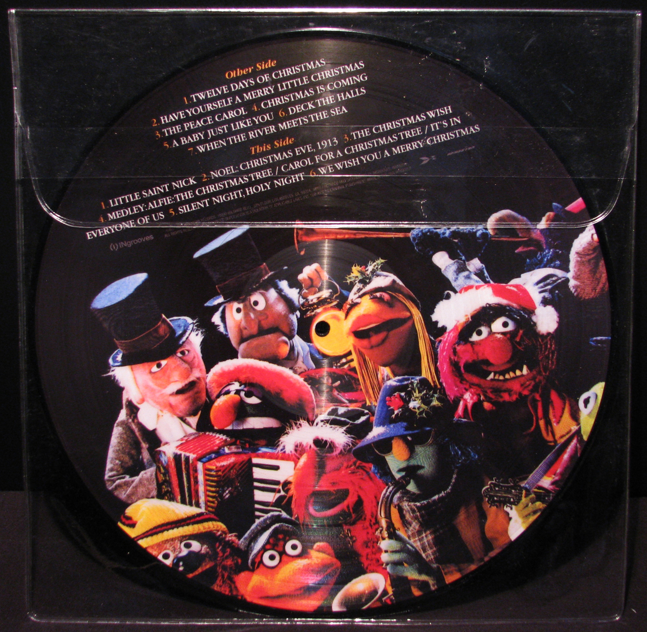 Image - Xmas together 2013 picture disc 02.jpg | Muppet Wiki ...