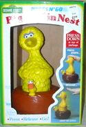 Illco 1988 press n go big bird in nest