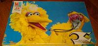 Milton bradley 1978 puzzle betty lou big bird doctor