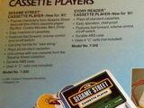 Sesame Street cassette players (Tiger)