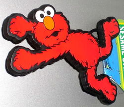 Belt buckle flying elmo