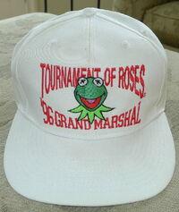 California headwear tournament of roses 1996 kermit grand marshal cap 1