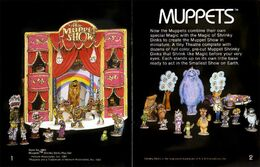 Shrinky dinks muppets 1981